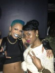 Sharaya J & I after her video premiere