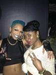Sharaya J & I after her video premiere
